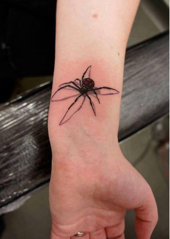 60 Tatuajes de Arañas con significados 33