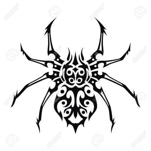 60 Tatuajes de Arañas con significados 43