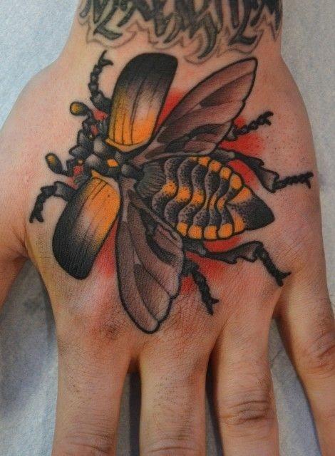 50 Especiales Tatuajes de Insectos y sus significados 5