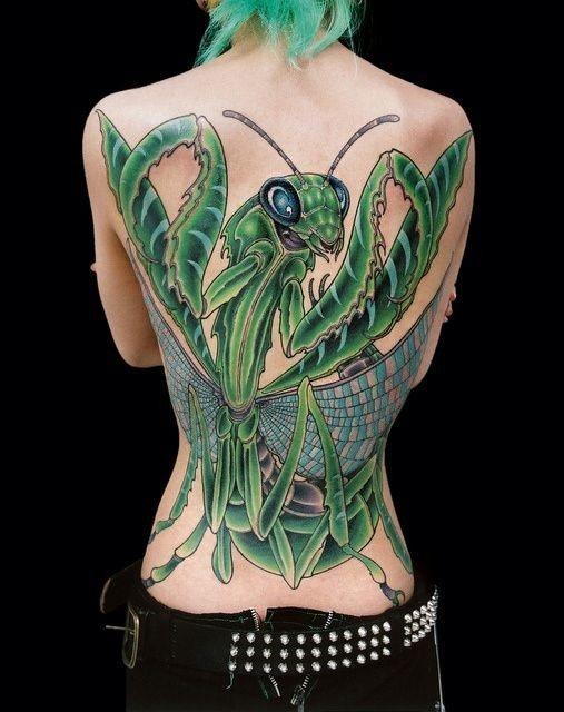 50 Especiales Tatuajes de Insectos y sus significados 6