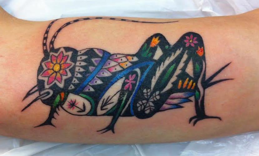 50 Especiales Tatuajes de Insectos y sus significados 7