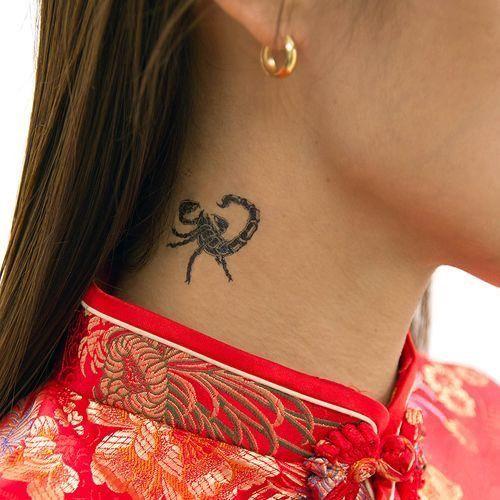79 Ideas para Tatuajes de Escorpiones (+Significados) 20
