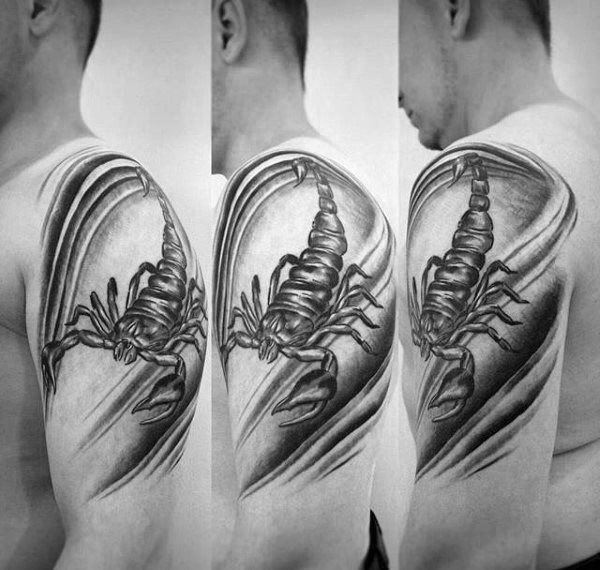 79 Ideas para Tatuajes de Escorpiones (+Significados) 29