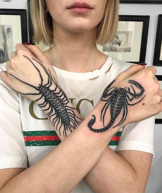 79 Ideas para Tatuajes de Escorpiones (+Significados) 16