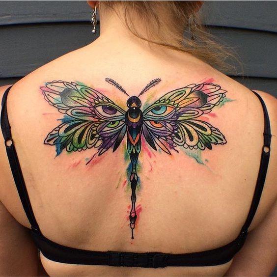 50 Especiales Tatuajes de Insectos y sus significados 40