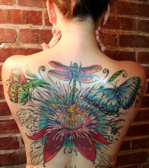 50 Especiales Tatuajes de Insectos y sus significados 41