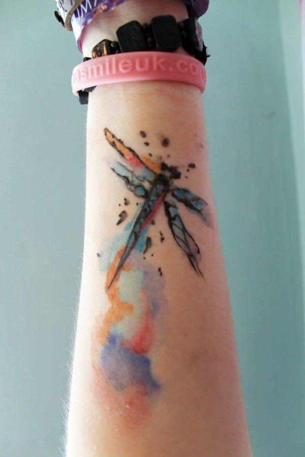 50 Especiales Tatuajes de Insectos y sus significados 43