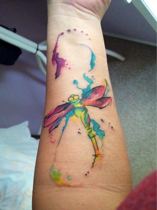 50 Especiales Tatuajes de Insectos y sus significados 44