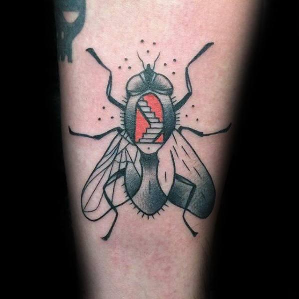 50 Especiales Tatuajes de Insectos y sus significados 9