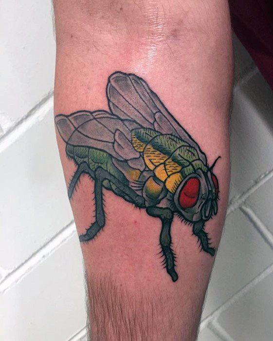50 Especiales Tatuajes de Insectos y sus significados 15