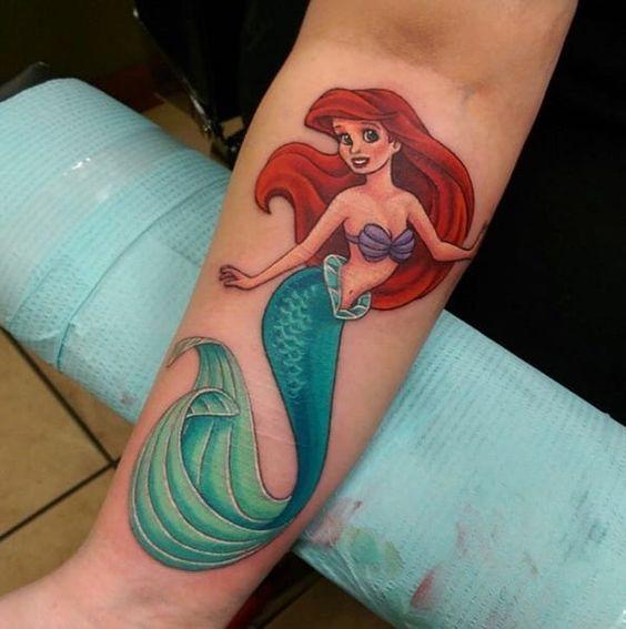 58 Ideas para Tatuajes de Sirenas (Significados) 35