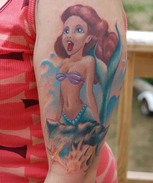 58 Ideas para Tatuajes de Sirenas (Significados) 17