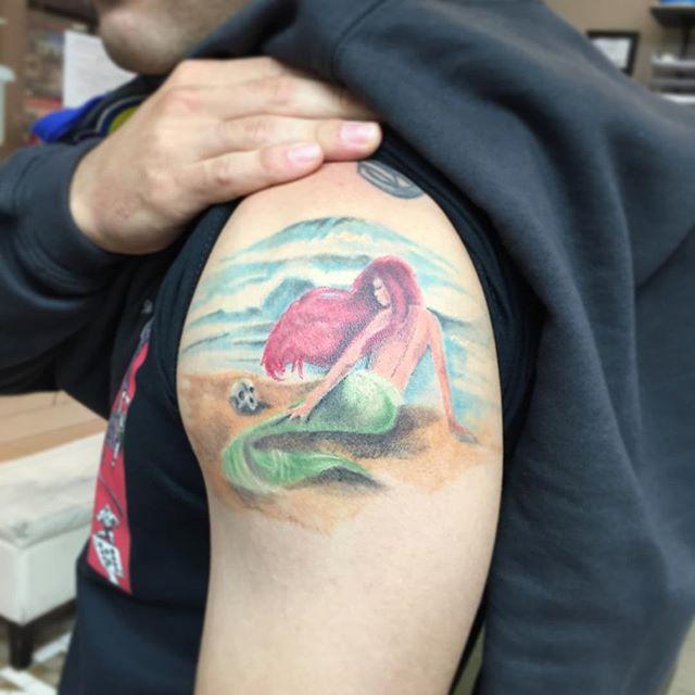 58 Ideas para Tatuajes de Sirenas (Significados) 23