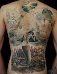 58 Ideas para Tatuajes de Sirenas (Significados) 28