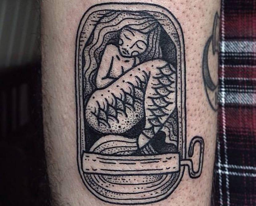 58 Ideas para Tatuajes de Sirenas (Significados) 29