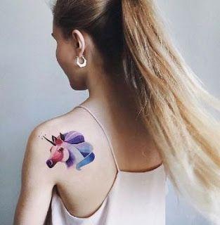 62  Ideas para Tatuajes de Unicornios (+Significados) 34