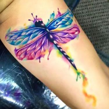 68 Tatuajes de Libélulas con sus Significados 12