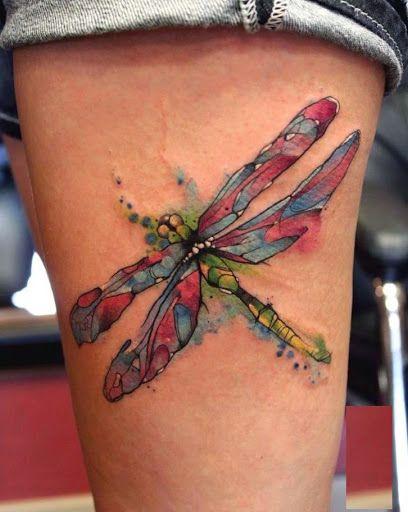 68 Tatuajes de Libélulas con sus Significados 13