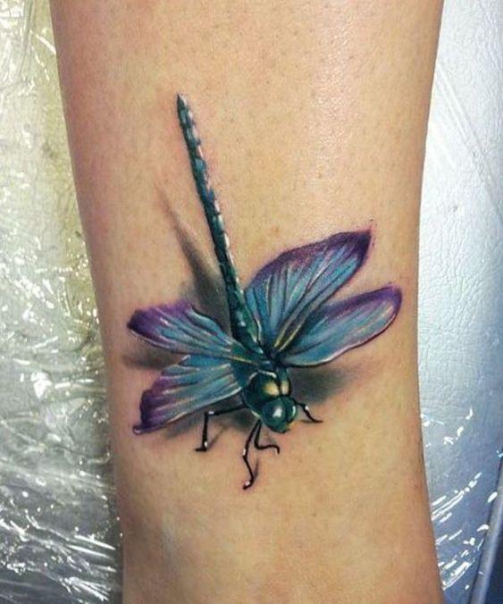 68 Tatuajes de Libélulas con sus Significados 14