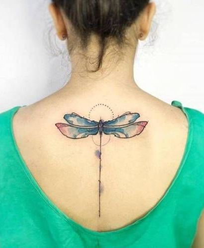 68 Tatuajes de Libélulas con sus Significados 19