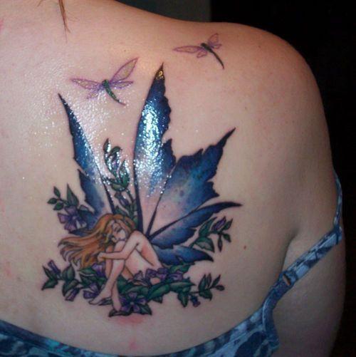 68 Tatuajes de Libélulas con sus Significados 25