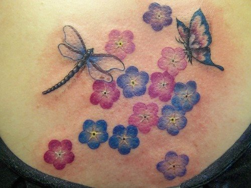 68 Tatuajes de Libélulas con sus Significados 47