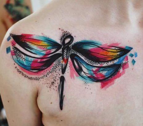 68 Tatuajes de Libélulas con sus Significados 49