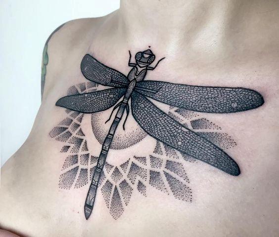 68 Tatuajes de Libélulas con sus Significados 50