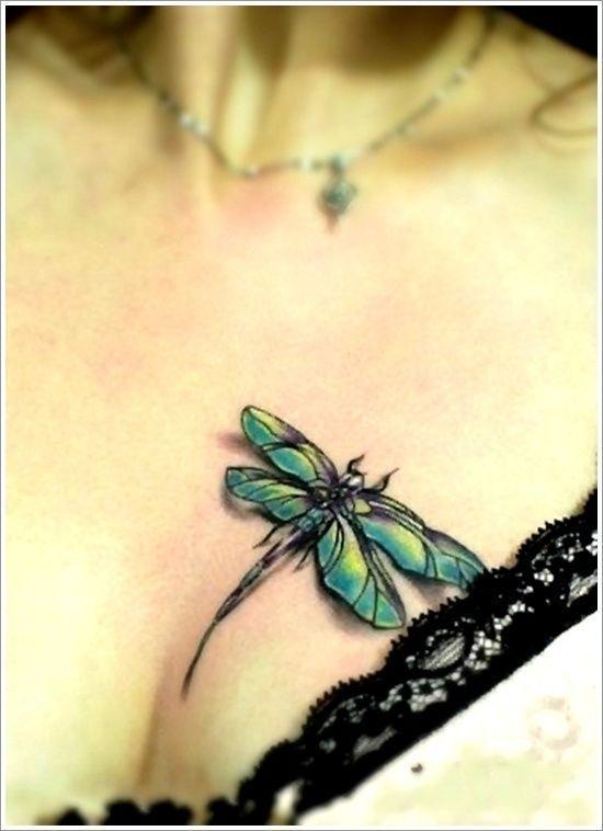 68 Tatuajes de Libélulas con sus Significados 51