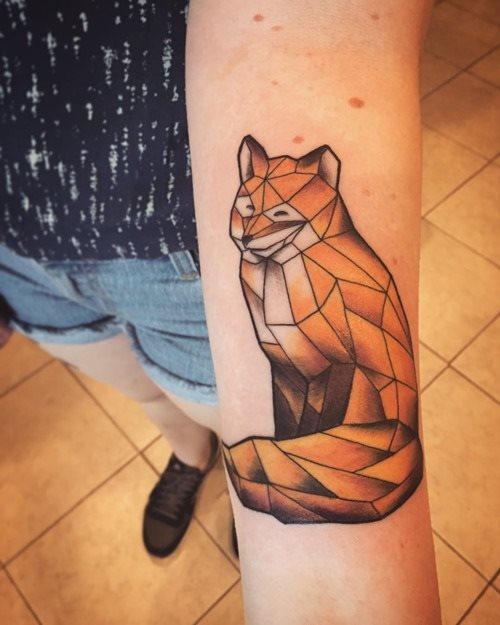 51 Tatuajes de zorros y sus significados 37