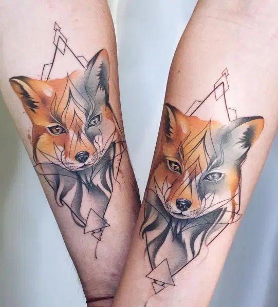 51 Tatuajes de zorros y sus significados 24