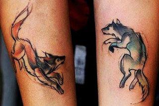 51 Tatuajes de zorros y sus significados 26