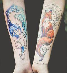 51 Tatuajes de zorros y sus significados 27