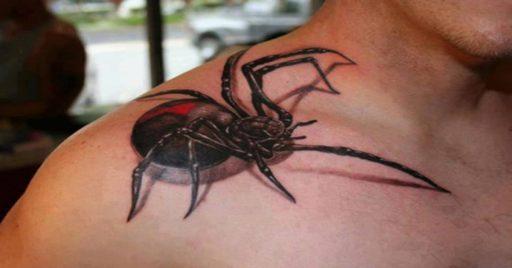 60 Tatuajes de Arañas con significados 1