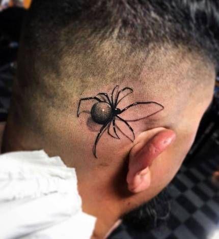60 Tatuajes de Arañas con significados 38