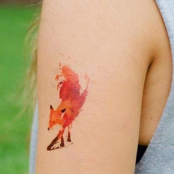51 Tatuajes de zorros y sus significados 41