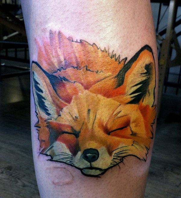 51 Tatuajes de zorros y sus significados 42