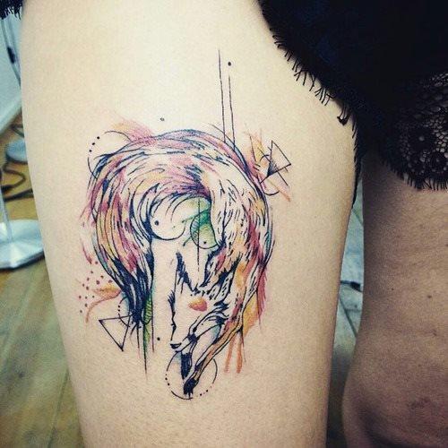 51 Tatuajes de zorros y sus significados 43