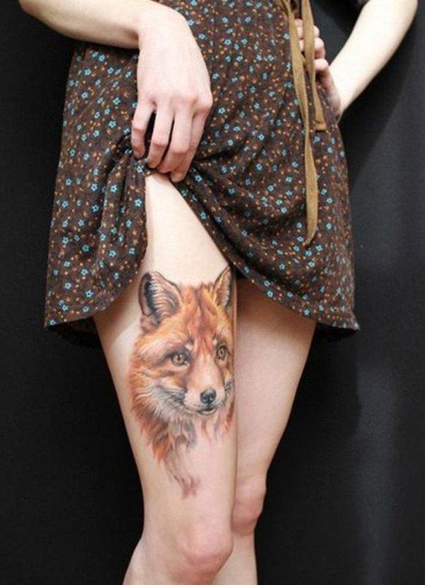 51 Tatuajes de zorros y sus significados 9