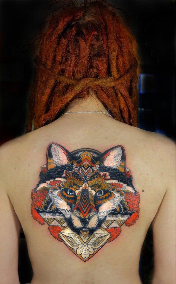 51 Tatuajes de zorros y sus significados 11