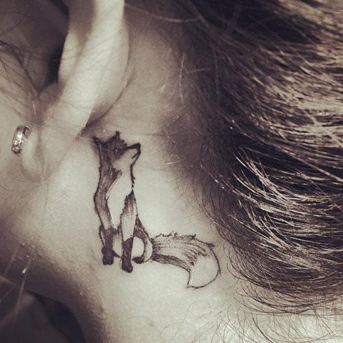 51 Tatuajes de zorros y sus significados 13