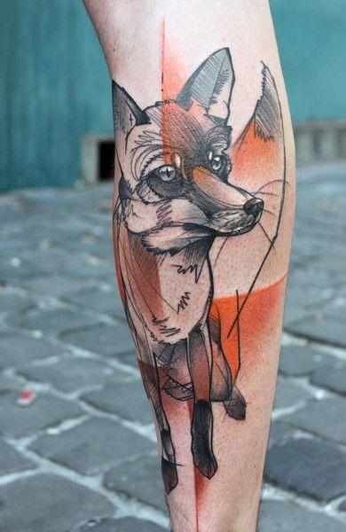 51 Tatuajes de zorros y sus significados 3