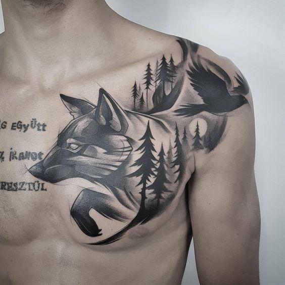 51 Tatuajes de zorros y sus significados 4
