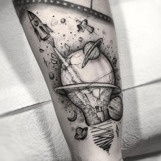 107 Mejores Tatuajes del Universo (+ Significado) 42