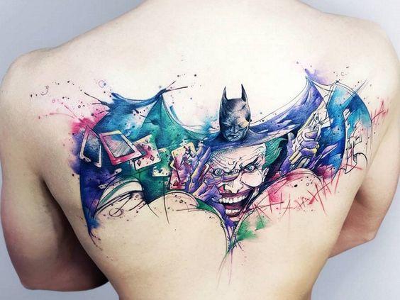 Tatuajes de Batman - Colección de las Mejores Ideas 3