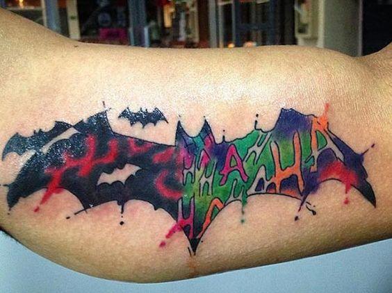 Tatuajes de Batman - Colección de las Mejores Ideas 4