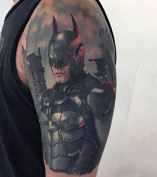 Tatuajes de Batman - Colección de las Mejores Ideas 8