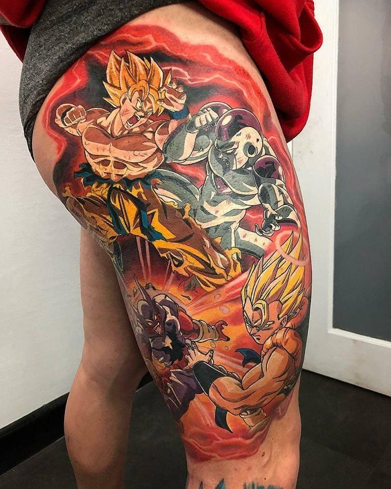 46 Mejores Tatuajes de Dragon Ball y variantes 4