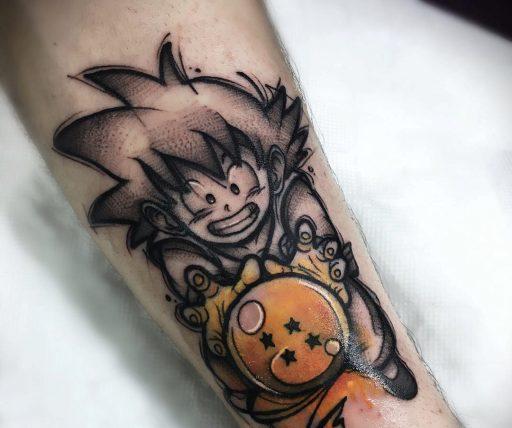 62 Mejores Tatuajes de Goku y sus Variantes 3