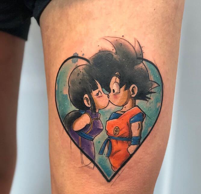 62 Mejores Tatuajes de Goku y sus Variantes 5